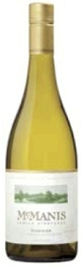 Mcmanis Family Vineyards Viognier 2008, California Bottle