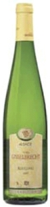Willy Gisselbrecht Riesling 2007, Ac Alsace Bottle