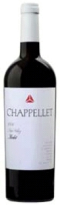 Chapellet Merlot 2006, Napa Valley Bottle