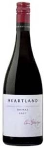 Heartland Shiraz 2007, Langhorne Creek/Limestone Coast, South Australia Bottle