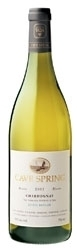 Cave Spring Chardonnay Estate 2007, VQA Beamsville Bench Bottle