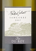 Pascal Jolivet Clos Du Roy Sancerre 2007, Ac Bottle