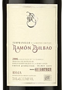 Ramón Bilbao Limited Edition Crianza 2006, Doca Rioja Bottle