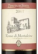 Tenuta Di Sesta Rosso Di Montalcino 2007, Doc Bottle