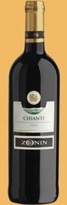 Zonin 2008, Chianti Docg Bottle