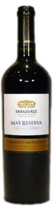 Errazuriz Max Reserva Cabernet Sauvignon 2008, Aconcagua Valley Bottle