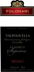 Folonari Valpolicella Ripasso 2008, Veneto Bottle