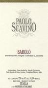 Paolo Scavino Barolo 2003 Bottle