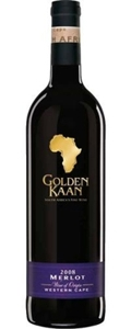 Golden Kaan Merlot 2004, Western Cape Bottle
