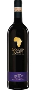 Golden Kaan Merlot 2008, Western Cape Bottle