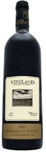 Vineland Estates Cabernet Franc 2008 Bottle