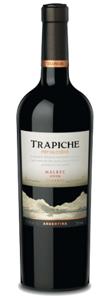Trapiche Malbec Reserve 2008, Mendoza Bottle