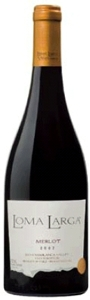 Loma Larga Merlot 2007, Casablanca Valley Bottle