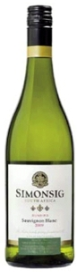 Simonsig Sunbird Sauvignon Blanc 2009, Wo Stellenbosch Bottle