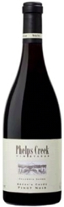 Phelps Creek Becky's Cuvée Pinot Noir 2007, Columbia Gorge Bottle
