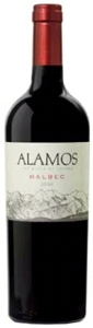 Alamos Malbec 2008, Mendoza Bottle