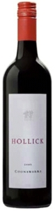 Hollick Coonawarra Red 2005, Coonawarra, South Australia Bottle