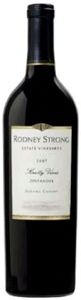 Rodney Strong Knotty Vines Zinfandel 2007, Sonoma County Bottle