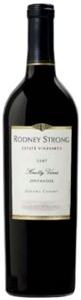 Rodney Strong Knotty Vines Zinfandel 2007, Sonoma County Bottle