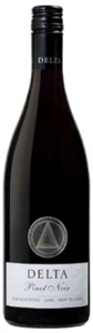 Delta Vineyard Pinot Noir 2008, Marlborough, South Island Bottle