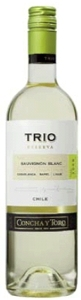Concha Y Toro Trio Reserva Sauvignon Blanc 2009, Casablanca, Rapel & Limarí Valleys Bottle