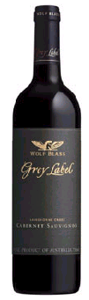 Wolf Blass Grey Label Cabernet Sauvignon 2007, Langhorne Creek, South Australia  Bottle