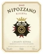 Frescobaldi Nipozzano Chianti Rùfina Riserva 2006, Tuscany Bottle