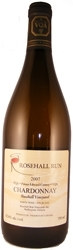 Rosehall Run Chardonnay 2007, VQA Prince Edward County Bottle