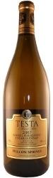 Willow Springs Barrel Fermented Chardonnay 2007, VQA Ontario Bottle