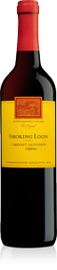 Smoking Loon Cabernet Sauvignon 2008, California Bottle