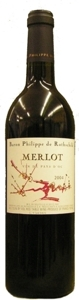 Philippe De Rothschild Merlot Vdp 2008 Bottle