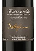 Fabrizio Battaglino Vigna Munbel Babera D'alba 2006, Doc Bottle