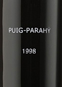 Puig Parahy Estate Bottled Dessert Wine 1998, Ac Rivesaltes Bottle