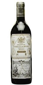 Marqués De Riscal Reserva 2003, Rioja Bottle