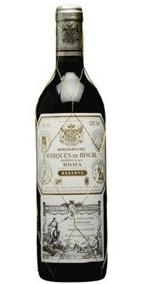 Marqués De Riscal Reserva 2005, Rioja Bottle