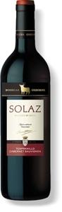 Solaz Tempranillo Cabernet Sauvignon 2007, Castilla León, Spain Bottle