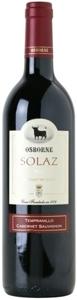 Solaz Merlot Tempranillo 2007, Tierra De Castilla Bottle