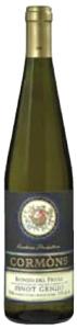 Cormòns Pinot Grigio 2008, Doc Isonzo Del Friuli Bottle