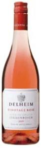 Delheim Pinotage Rosé 2009, Wo Stellenbosch Bottle