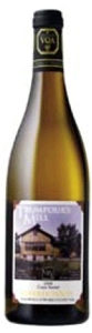 Trumpour's Mill Chardonnay 2008, VQA Prince Edward County Bottle