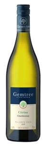Gemtree Citrine Chardonnay 2009, Mclaren Vale, South Australia Bottle