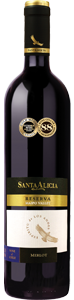 Santa Alicia Merlot Reserva 2008, Maipo Valley Bottle