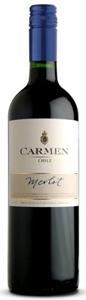 Carmen Merlot 2008, Central Valley Bottle