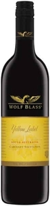 Wolf Blass Yellow Label Cabernet Sauvignon 2008, South Australia Bottle