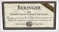 Beringer Knights Valley Cabernet Sauvignon 1999 Bottle