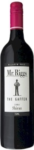 Mr. Riggs The Gaffer Shiraz 2008, Mclaren Vale, South Australia Bottle