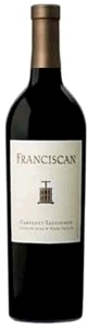 Franciscan Cabernet Sauvignon 2004 Winemaker's Reserve, Napa Valley Bottle