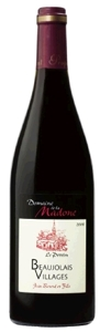 Domaine De La Madone Le Perréon Beaujolais Villages 2009, Ac Bottle
