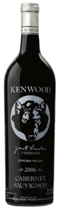 Kenwood Jack London Vineyard Cabernet Sauvignon 2006, Sonoma County Bottle