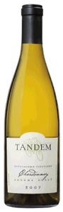 Tandem Sangiacomo Chardonnay 2007, Sonoma Coast Bottle